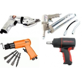 Air Shear Guns, Air Grease Guns, Air Hammers, Air Impact Wrenches