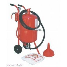 Sandblaster w/ 10 gallon pressurized tank with regulator (400256)