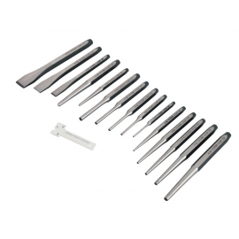 Precision cold chisel and punch set (6740)