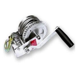 2,000lb Geared Winch, Steel Cable (20693)