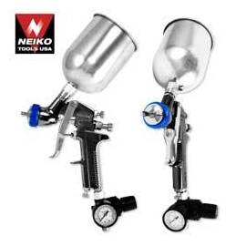 1.3mm HVLP Gravity Feed Spray Gun w/ Gauge(31213)