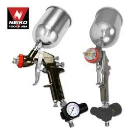 1.7mm HVLP Gravity Feed Spray Gun w/ Gauge (31215)
