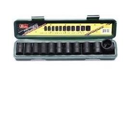 1/2 INCH DRIVE SHALLOW 12 PC SAE (32002CP)