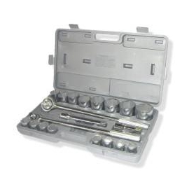 21PC MM SOCKET SET, 3/4 DRIVE (701152)