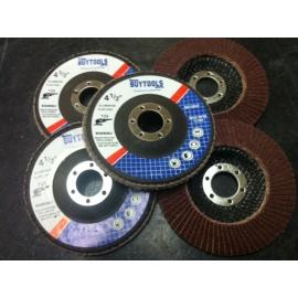 10 pack 60 grit oxyde flap discs (flap60)