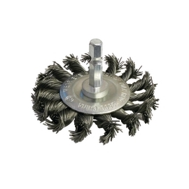 End Circular Brush 3 inch Knot Coarse (45156)