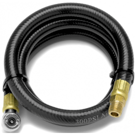 4 foot air hose with tire chuck (w10057)