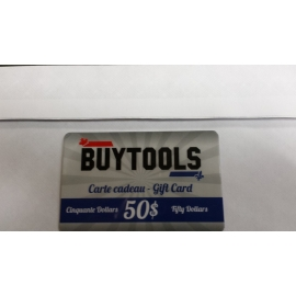 Buytools gift cards 50$ (cert50)
