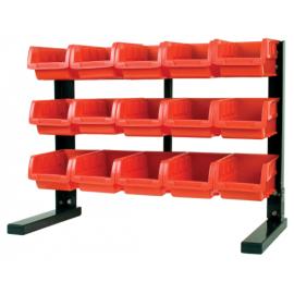 15 Bin Table Top Storage Rack (w5186)