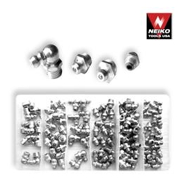 110pc Metric Hydraulic Grease Fitting Assortment (50466a)