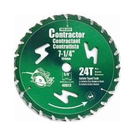 7-1/4 inches X 24T Circular Saw Blade (Green)(40013) (40013)