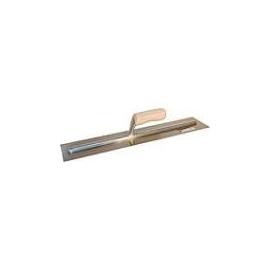 120157- Trowel Finishing 4in x 20in Wooden Handle