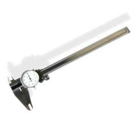 6 INCH STAINLESS STEEL CALIPER W GAUGE (01400)