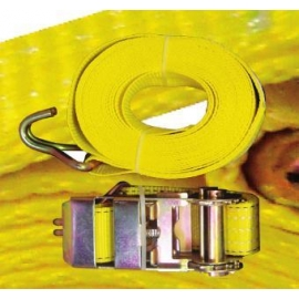 RATCHET TIE DOWN WITH J HOOK 3 INCH X 30 FEET (RTD3)