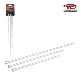 3PC 1/4 INCH DRIVE EXTRA LONG EXTENSION BAR (12,15,18 INCHES) (04158)