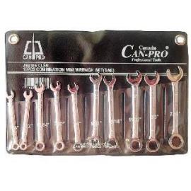 Combination Mini Wrench Set 10pcs mm (32221)