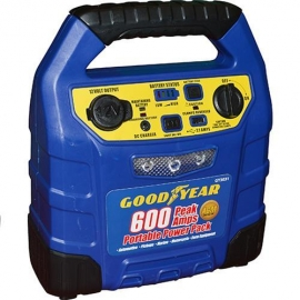 Battery charger and booster pack 600amp (gy3031)