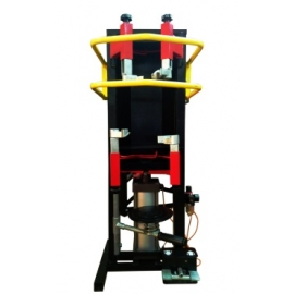 Wall mounted strut compressor - air operated (BTT04)