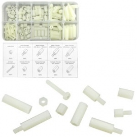 Nylon Screw/Nut Assortment | 120 Pc (50429)