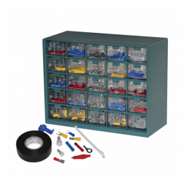 1023 pc Wire Terminal Assortment (37149)