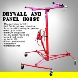 NEW Pro Grade Drywall Hoist 16 feet high (dh16b)