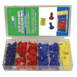 65 PC QUICK WIRE SPLICE ASSORTMENT (43118)
