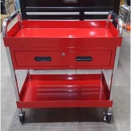 350 lb Capacity Large Service Cart with Locking Storage Drawer Tool Cart (tc120)