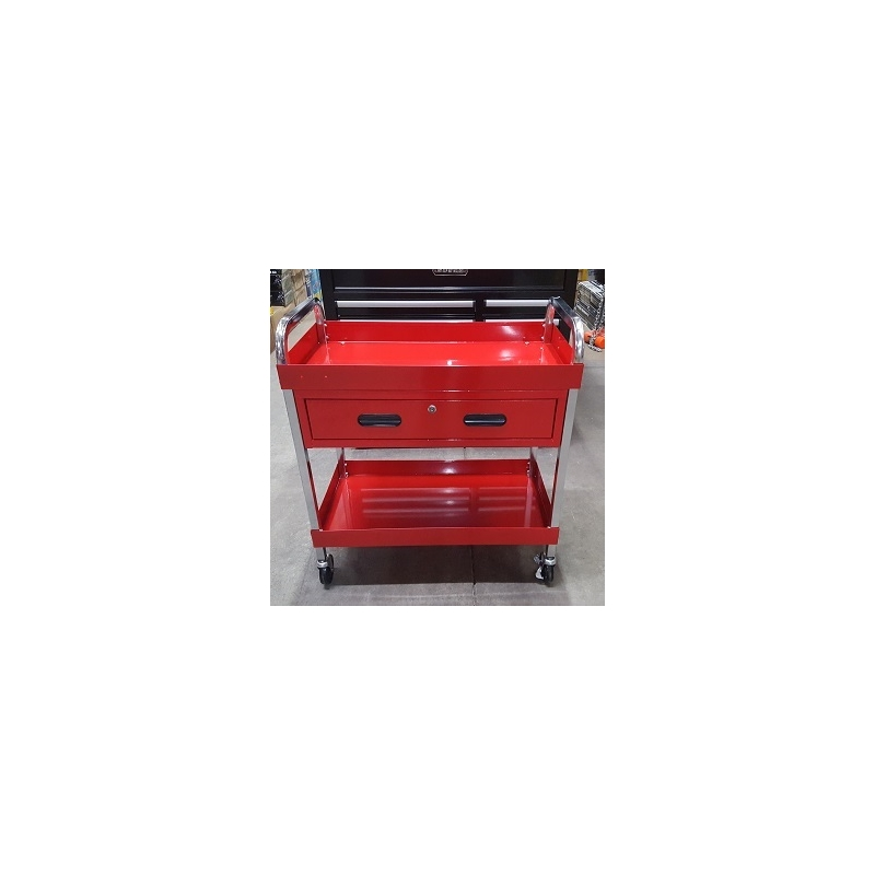 Coffre table de service de grande capacit de 350 lb avec chariot outils avec tiroir de - Coffre de jardin grande capacite ...