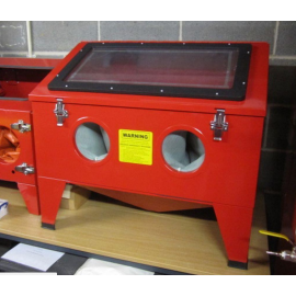 Bench Top Sand Blast Cabinet SBC190, Ideal for small parts or glass etching