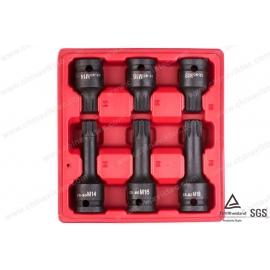 "6pc 1/2"" Drive Spline Impact Socket Set bt13097"