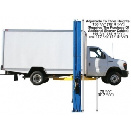Atlas PV-15P 2 Post Overhead Lift (15,000lbs Capacity) Professional Value