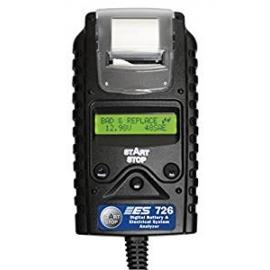"""ESI ESI 726 Black 8"""" x 4.5"""" x 1.5"""" Digital Battery and Electrical System Analyzer"""