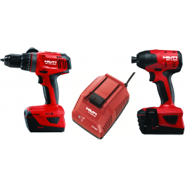 Hilti 22v 5.2 amps 2 pc Battery operated Combo set SF 6H-A22+ SID 4-A22