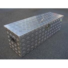 Aluminum Truck Pickup ATV Camper Tool Box Trailer Flatbed RV Storage w/Lock 48 inches al4820