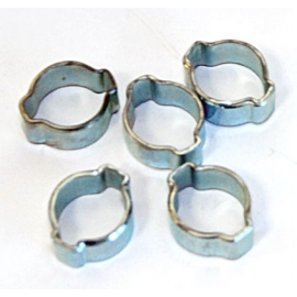 "776258- 5pc Ear Clamps 3/8"" OD"