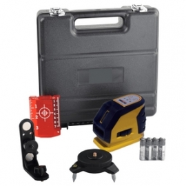 Self-Leveling Red Cross-Line Laser Level Kit FUTTURA (CL1H1V-R)