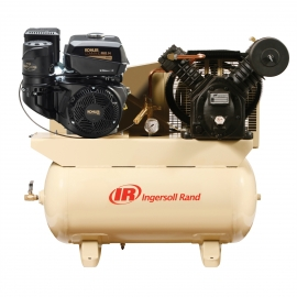 14 HP Gas Drive Air Compressor - Kohler Engine IRT2475F14G
