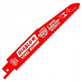 6 in. 8/10 Teeth per in. Steel Demon Metal Demolition Reciprocating Saw Blade (10-Pack) ds0608bfd25c