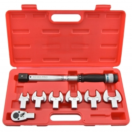 Interchangeable Spanner Torque Wrench Set 1/2"