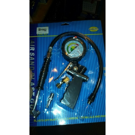 Tire Inflator with Dial Gauge (tg-10)