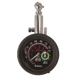 3085 - 2 in 1 tire pressure and depth gauge