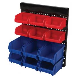 12pc wall mount bin system w530