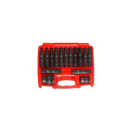 BT01853 - 16 pc impact socket driver set