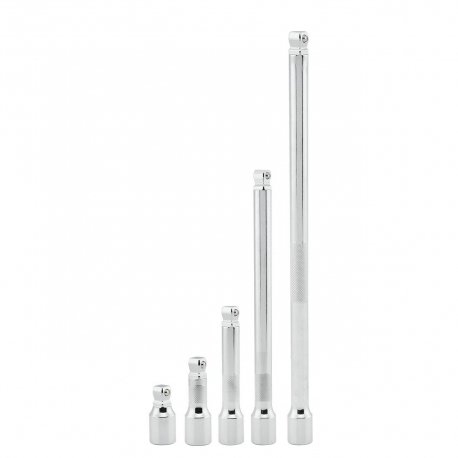 """Fixed and Wobble Extension Bar Set 1/2"""" 5 Pc 04102a"""