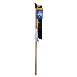 "123213- 24"" Push Broom-Concrete hard W/Brace & HDL"