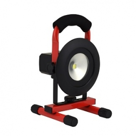 PORTABLE WORK LIGHT LED RECHARGEABLE BATTERY  (40329)