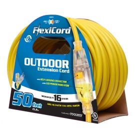 140019- Extension Cord 30m SJTW 16/3 1-Outlet