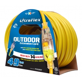 140054- Extension Cord 15m SJTW 14/3 1-Outlet