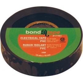 177951-10pc PVC Electrical Tape 18mmX20m (Black)