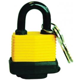 101032- Padlock Laminated 50mm with Plastic Cover Plated